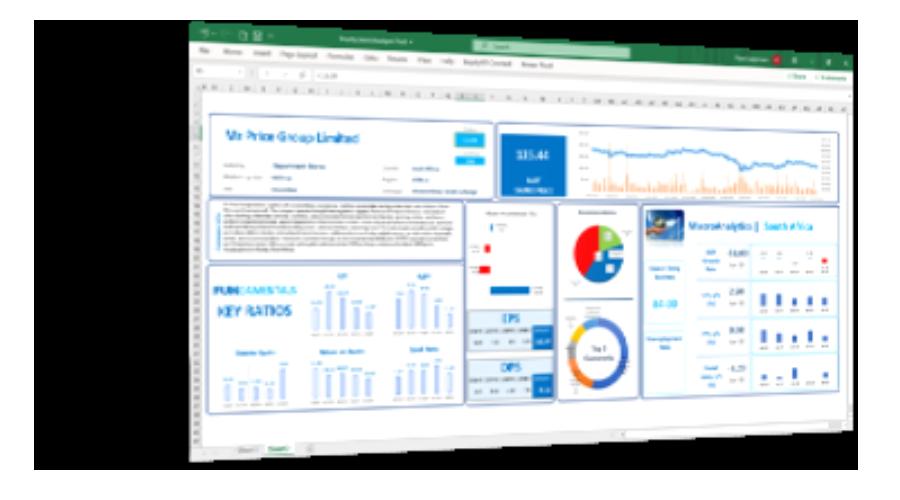 equityRT Excel addin